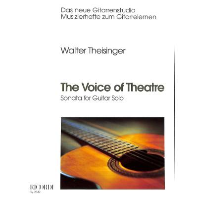 THE VOICE OF THEATRE