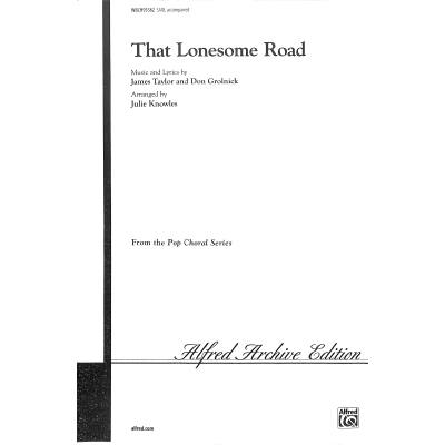 that-lonesome-road