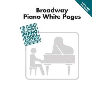 PIANO WHITE PAGES - BROADWAY