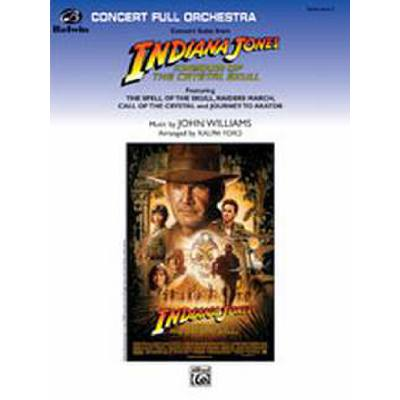 CONCERT SUITE FROM INDIANA JONES - KINGDOM OF THE CRYSTAL SKULL