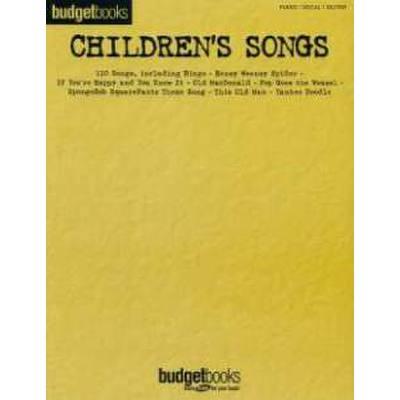 BUDGET BOOKS - CHILDREN´S SONGS