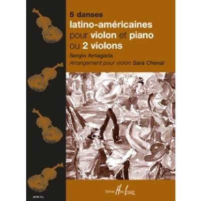 5 Danses Latino Americaines