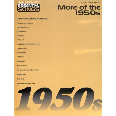 Essential songs - More of the 1950s