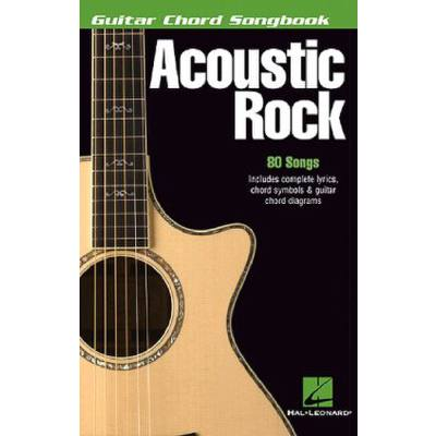 Guitar chord songbook - Acoustic Rock