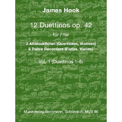 12 Duettinos op 42/1 (Nr 1-6)