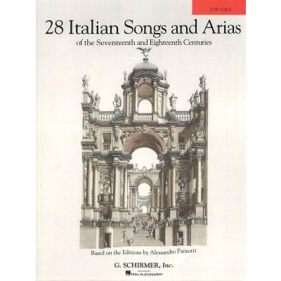 28 Italian Songs + Arias of the 17th + 18th cen...