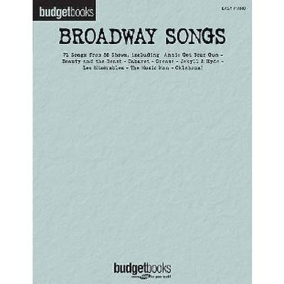 budget-books-broadway-songs