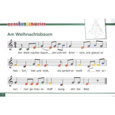 Glockenspiel Weihnachtslieder Noten Kostenlos.Meine Bunten Noten Für Das Glockenspiel Bekannte Beliebte