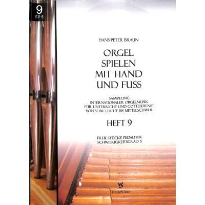 Orgel spielen mit Hand und Fuß 9