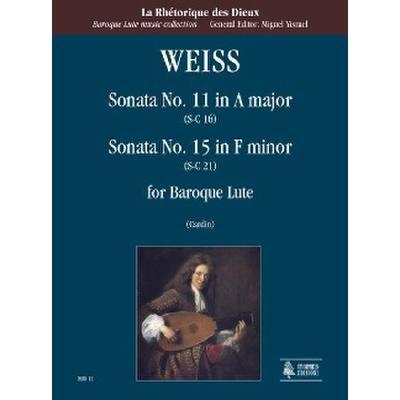 Sonate 11 A-Dur (SC 16) + 15 f-moll (SC 21)