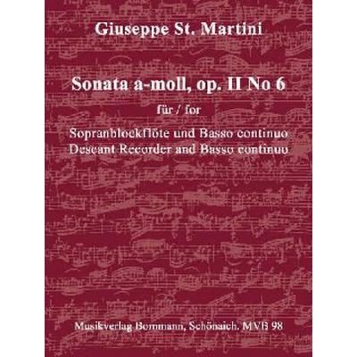 Sonate a-moll op 2/6