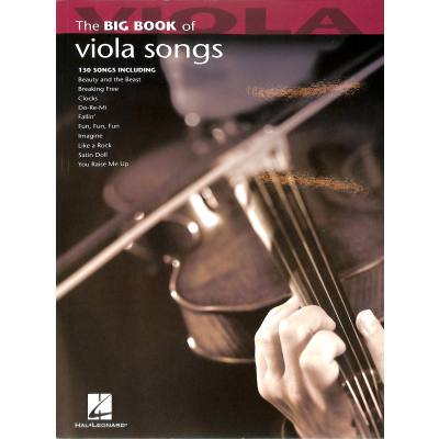 The Big Book of Viola Songs