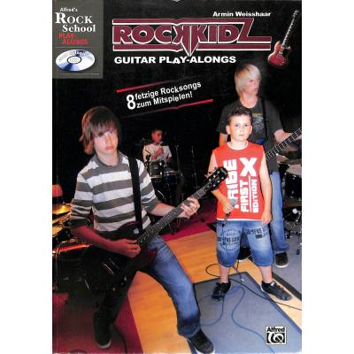 Rockkidz guitar play alongs