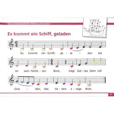 Bekannte Weihnachtslieder.Meine Bunten Noten Für Klavier Keyboard Melodica Triola Bekannte Und