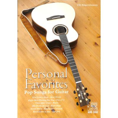 Personal favorites | Popsongs for guitar