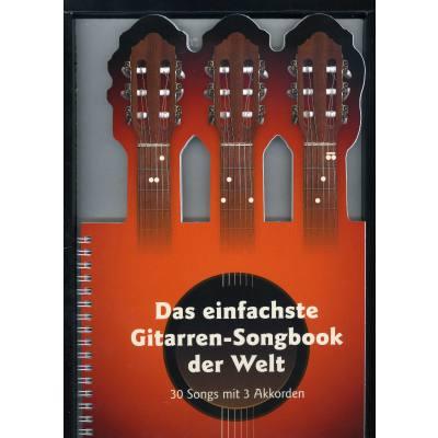 Das einfachste Gitarren Songbook der Welt