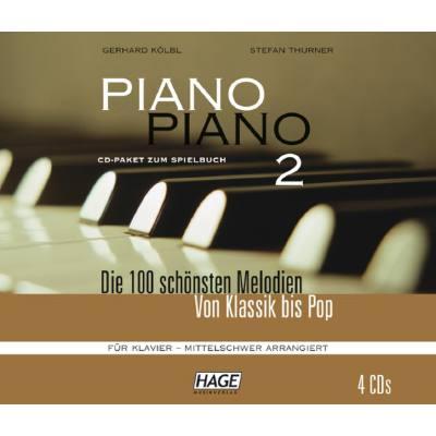 PIANO PIANO 2 - DIE 100 SCHOENSTEN MELODIEN VON KLASSIK BIS POP