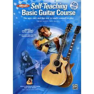 Self teaching basic guitar course