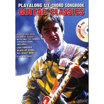 Playalong 6 chord songbook - guitar classics