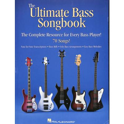 The ultimate bass songbook