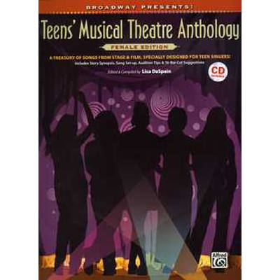 Teens´ musical theatre anthology - female edition