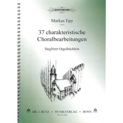 37-charakteristische-choralbearbeitungen-steglitzer-orgelbuchlein