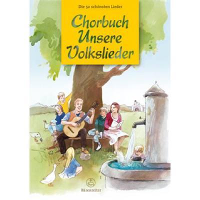 Chorbuch Unsere Volkslieder