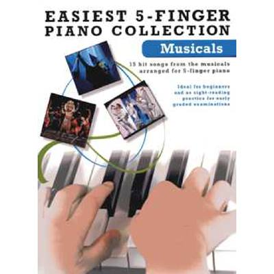easiest-5-finger-piano-collection-musicals, 15.95 EUR @ notenbuch-de