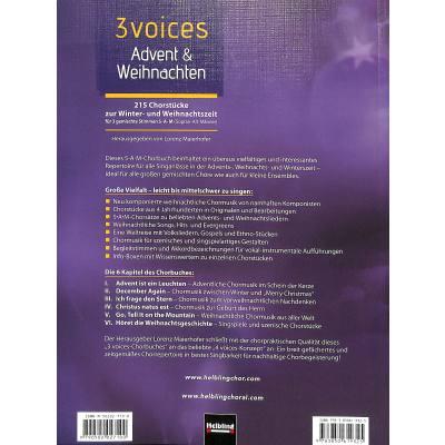 Weihnachtskekse Swing.3 Voices Advent Weihnachten Musikhaus Hieber Lindberg