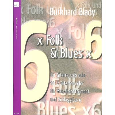 6x Folk + Blues x 6