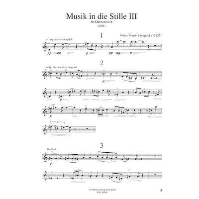 Musik in der Stille 3