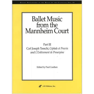 Ballet music from the Mannheim Court 3