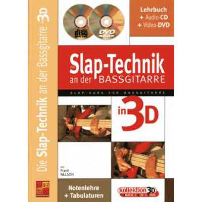 Die Slap Technik an der Bassgitarre in 3D