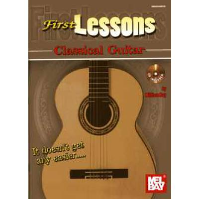First lessons - classical Guitar