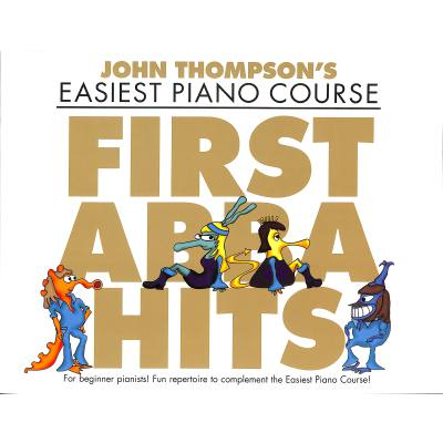 Easiest Piano course - First Abba hits