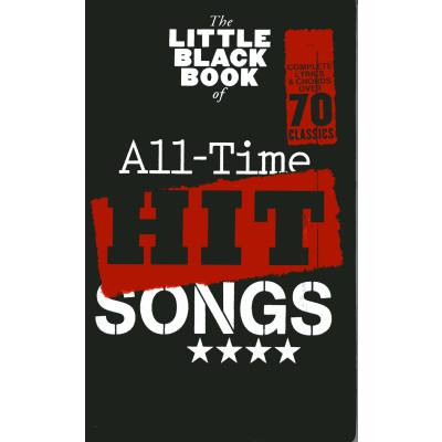 The little black book of all time hit songs
