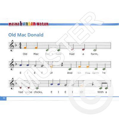 Weihnachtslieder Noten Für Glockenspiel.Meine Bunten Noten Für Das Glockenspiel 2 Bekannte Beliebte