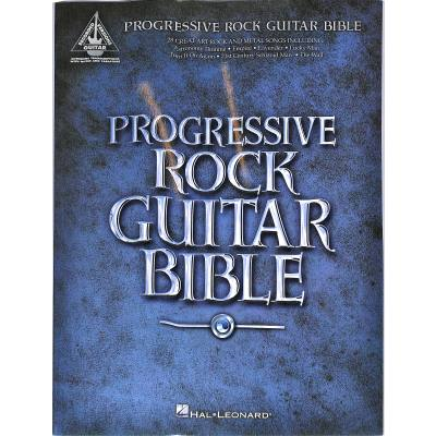 Progressive Rock guitar bible