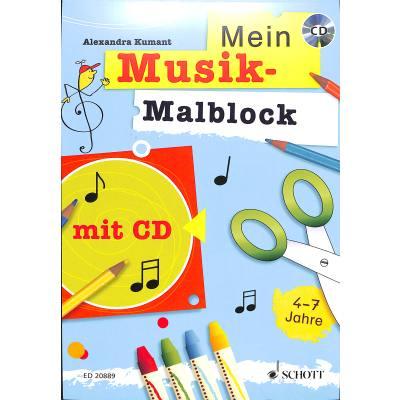 Mein Musik Malblock