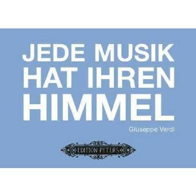 Postkarte - Jede Musik hat ihren Himmel