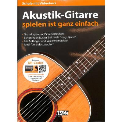 Akustik Gitarre spielen ist ganz einfach