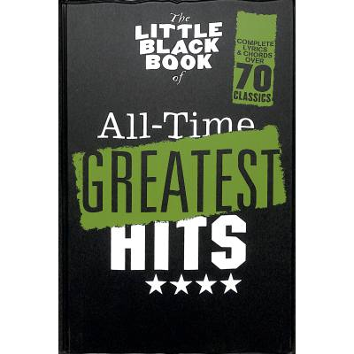 The little black book of all time greatest hits