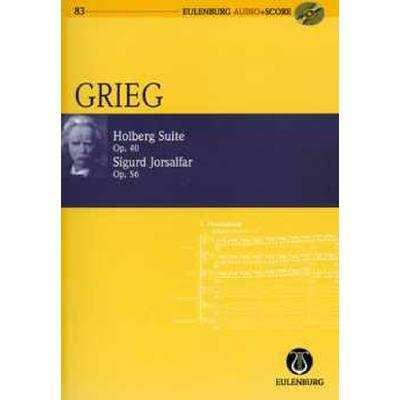 Holberg Suite op 40 | Sigurd jorsalfar op 56