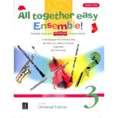 All together easy ensemble 3 | Christmas
