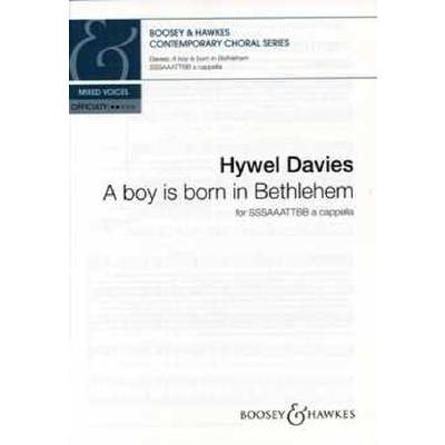 A boy is born in Bethlehem