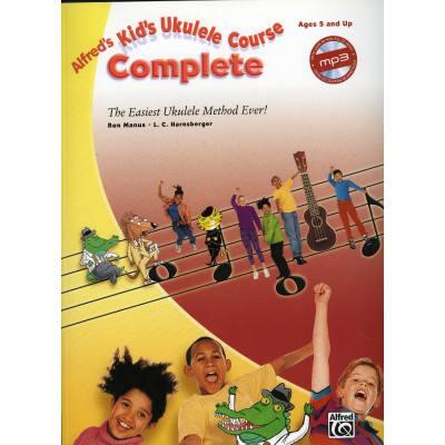 Kid's Ukulele course complete