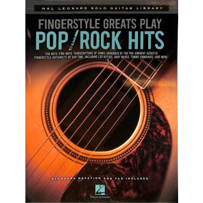 Fingerstyle greats play Pop / Rock hits