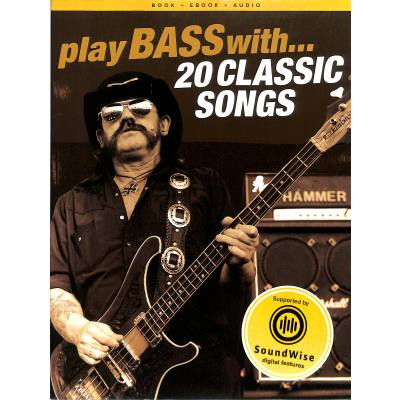 Play bass with | 20 classic songs