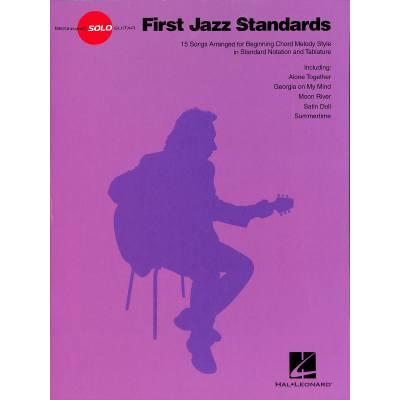 First Jazz standards | Beginning solo guitar