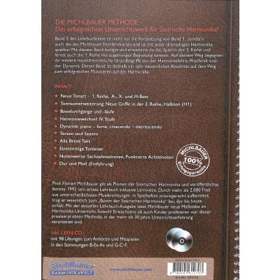 Methode 2 Lehrbuch Steirische Harmonika 2 Musikhaus Hieber Lindberg